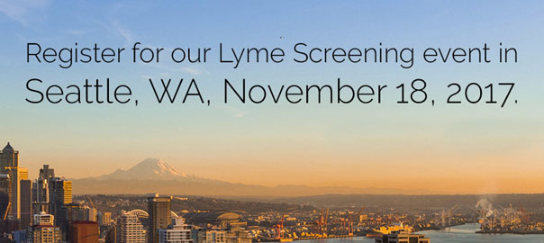 Market Place Naturopathic Lyme Disease Screening Event in Seattle Washington